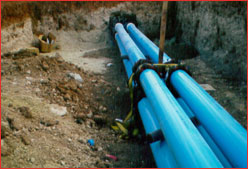 utility leak detection pipes